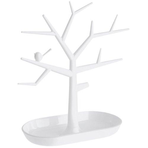 Koziol Unisex Schmuckbaum Pi:p solid weiß 5260525
