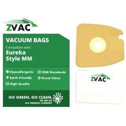 15 Eureka Style Mm Micro-Lined Mighty Mite & Sanitaire Allergen Filtration Vacuum Cleaner Bags; Similar To Eureka Part # 60297A , 60295, 60296, 60297, 60295B; By Zvac