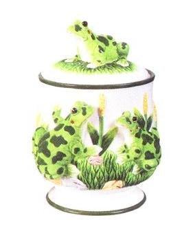 FROG 3-Dimensional Cookie Jar *NEW!*