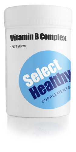 Vitamin B Complex (360 tablets) - Cheapest in UK - Money Back Guarantee!
