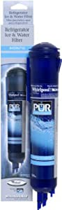 Whirlpool PUR Side by Side Refrigerator Push Button Cyst Reducing Water Filter