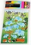 WILD ANIMALS FELT STICKERS ST5005