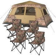Ozark Trail Realtree 8 Person Instant And Furniture Value Bundle With 4 Chairs front-968120