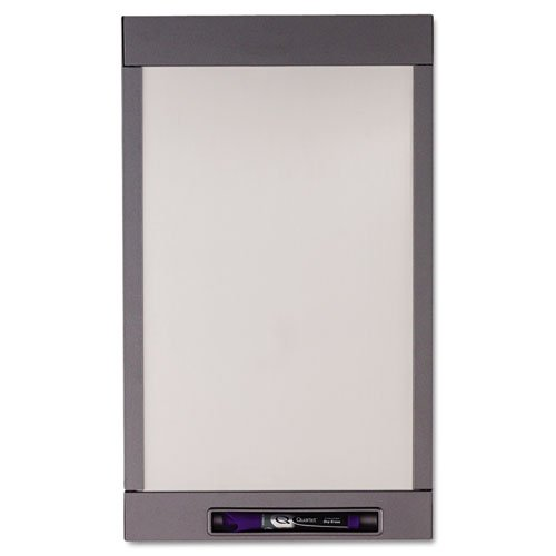Quartet - Inview Custom Whiteboard, 20 X 12, Graphite Frame 72984 (Dmi Ea