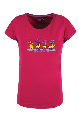 Mountain Warehouse Nice Weather For Ducks Womens Cotton Tee-Shirt