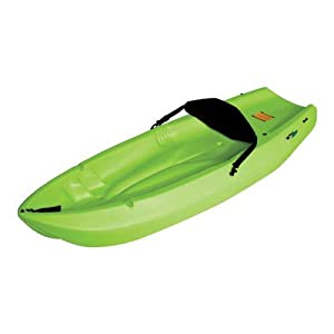 Buy Lifetime Wave Youth Kayak with Paddle and Foam Backrest Color: Lime Green by Lifetime