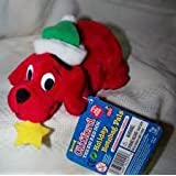Scholastic Clifford The Big Red Dog Plush Stuffed Holiday Beanbag Pals Toy