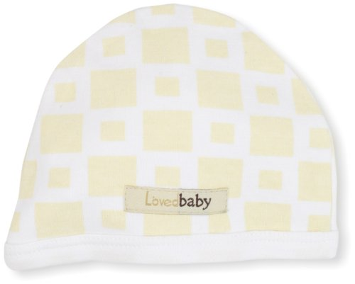 L'Ovedbaby Unisex-Baby Cute Cap, Miles-Of-Tiles Sand, 12 Months front-978734