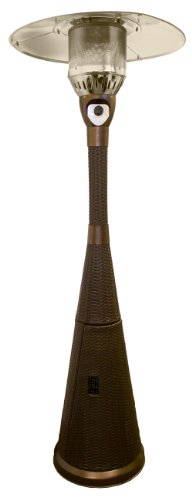 Hiland Tapered Wicker Heater (Propane Patio Heater Wicker compare prices)
