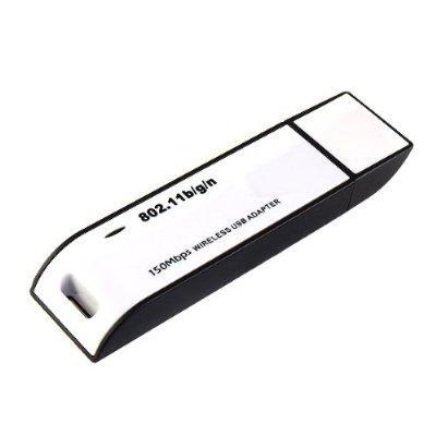 31GlGLOgMoL. SL500  WiFi Wireless IEEE 802.11N/G/B WLAN 54Mbps Network Dongle Adapter USB2.0 for Laptop Notebook Desktop PC Suport Vista/Windows 7(32bit  &  64bit)/Linux