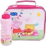 Peppa Pig Tea Party Lunch Bag and Bottle Set (80AFG35)