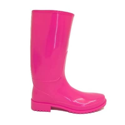Ladies Pink Festival Wellies Wellington Rain Boots
