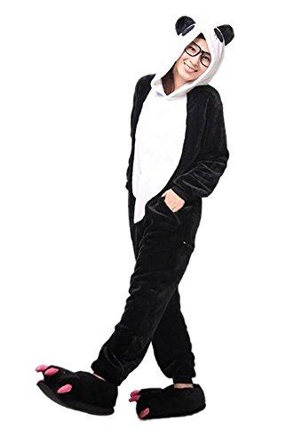 LATH.Pin Panda Pigiama Adulto Anime Cosplay Halloween Costume M