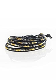 World Finds Metallic Wrap Cord Bracelet