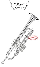 RS BERKELEY SIGNATURE SERIES SILVER PLATED Bb TRUMPET TP6542S