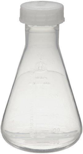 Nalgene 4106-0250 Fep 250Ml Erlenmeyer Flask With Etfe Screw Cap front-132946
