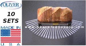 1 Set Genuine Oliver Bread Slicer Blades - Set Of 32 front-502577