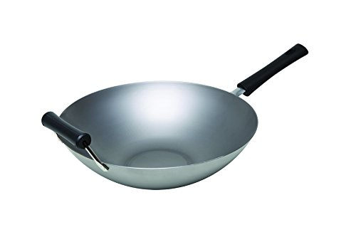 Keilen China Village Natural Carbon-Steel 14-Inch Wok