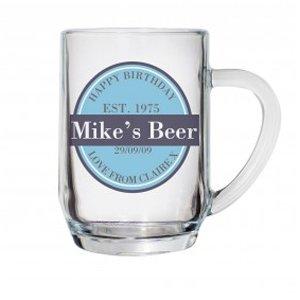 Personalised Label Beer Tankard