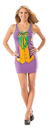 The Joker From Batman Womens Tank Dress Costume Dark Knight Tunic Top Sexy