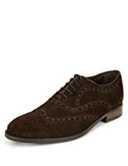 Collezione Suede Stab Stitch Shoes with Stain Defence™