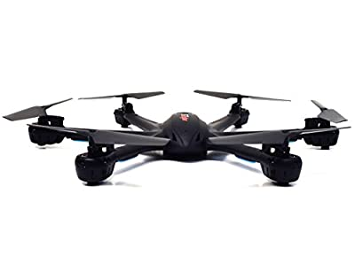 MJX X600 X-SERIES 2.4GHz 4 Channel 6 Axis RC Remote Control Hexacopter UFO Drone with Headless Mode and Auto-Return Feature (Without Camera - Black) from MJX