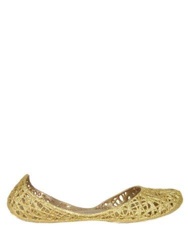 Melissa Melissa x Campana Zig-Zag Gold Glitter Shoes 5