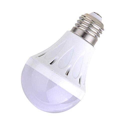 220V E27 7W Bright Led Globe Bulb Light Lamp Energy Saving Warm White