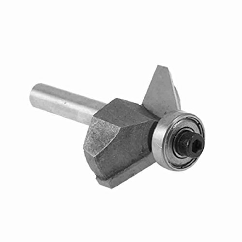 Magentoo(TM) Small 1/4 Shank 1/2 Cut Length 45 Degree Chamfer Router Bit