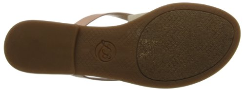 Lucky Women's LK-Baxx Gladiator Sandal,Blush Combo,10 M US