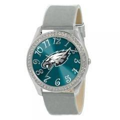 Ladies Jewelry NFL Philadelphia Eagles Glitz Silver Watch by NFL