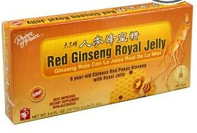 Prince Of Peace - Red Ginseng Royal Jelly, 10 vials (Royal Jelly Vials compare prices)