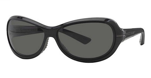 Nike Scene Stealer Gloss Black Polarized Sunglasses