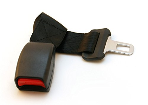 Car Seat Belt Extender For 2008 Mazda 5 (3Rd Row Window Seats) - Regular Style Available In Black, Gray & Beige