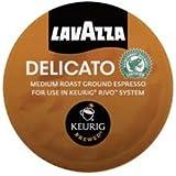 Lavazza Espresso Delicato Keurig Rivo Pack, 18 Count