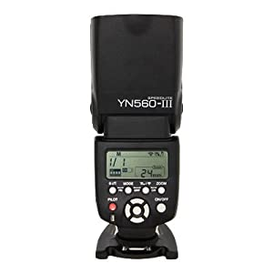 Yongnuo Professional Flash Speedlight Flashlight Yongnuo YN 560 III for Canon Nikon Pentax Olympus Camera / Such as: Canon EOS 1Ds Mark?, EOS1D Mark?, EOS 5D Mark?, EOS 7D, EOS 60D, EOS 600D, EOS 550D, EOS 500D, EOS 1100D