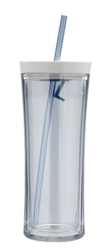Contigo Shake And Go Tumbler, 20-Ounce, Clear