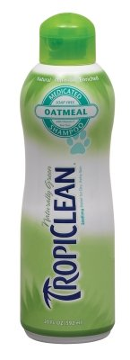 "Tropiclean - Oatmeal And Tea Tree Shampoo (20 Oz) ""Ctg: Dog Products - Dog Grooming - Shampoos & Soap"""