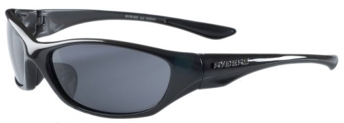 Ryders Eyewear Jolt Sunglasses, Metallic Black Frame/Grey Lens