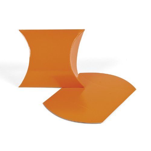 Orange Pillow Boxes (1 dz)