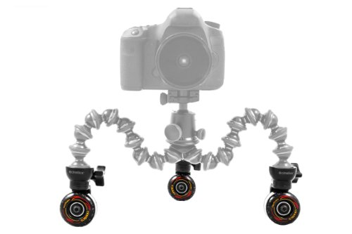 Cinetics CineSkates Camera Dolly Wheels for GorillaPod Focus Tripod