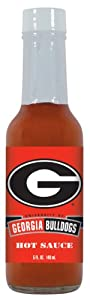 24 Pack Georgia Bulldogs Hot Sauce 5 Oz Cayenne from Hot Sauce Harry's