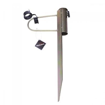 Bodenhülse Metall Erdspieß Schirmständer Sonnenschirmständer Sonnenschirmhalter von Meinposten - Gartenmöbel von Du und Dein Garten