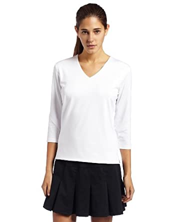 Bollé Ladies Essential 3 4 Sleeve Tennis Top by Bolle