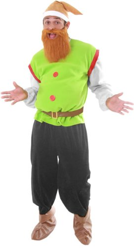 Men's Dwarf Adult Halloween Costume Standard