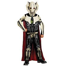 Star Wars General Grievous Halloween Costume - Child Size Large 10-12