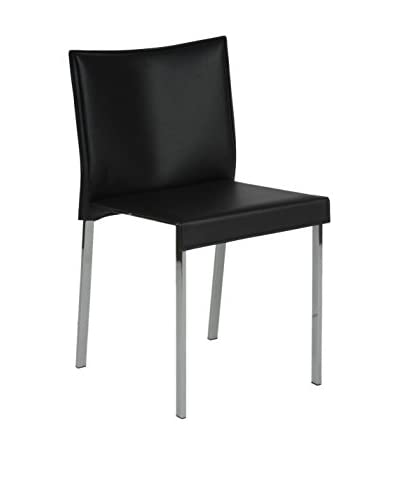 Eurostyle Riley Side Chair, Black