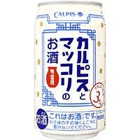 カルピスとマッコリのお酒 340ML 1缶