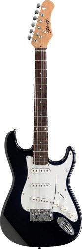 Stagg S300 3/4 NS Guitare électrique type Strat. Taille 3/4...