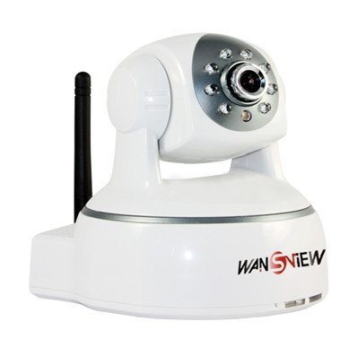Wansview Wifi H264 IP Camera with Pan & Tilt, Night Vision, SD-SLOT, Motion Alarm, 2 Way Audio on Apple Mac, Windows, gmail support